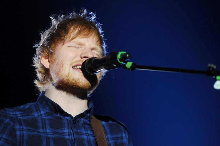 Ed Sheeran is headlining on Sunday night |© Shutterstock/yakub88