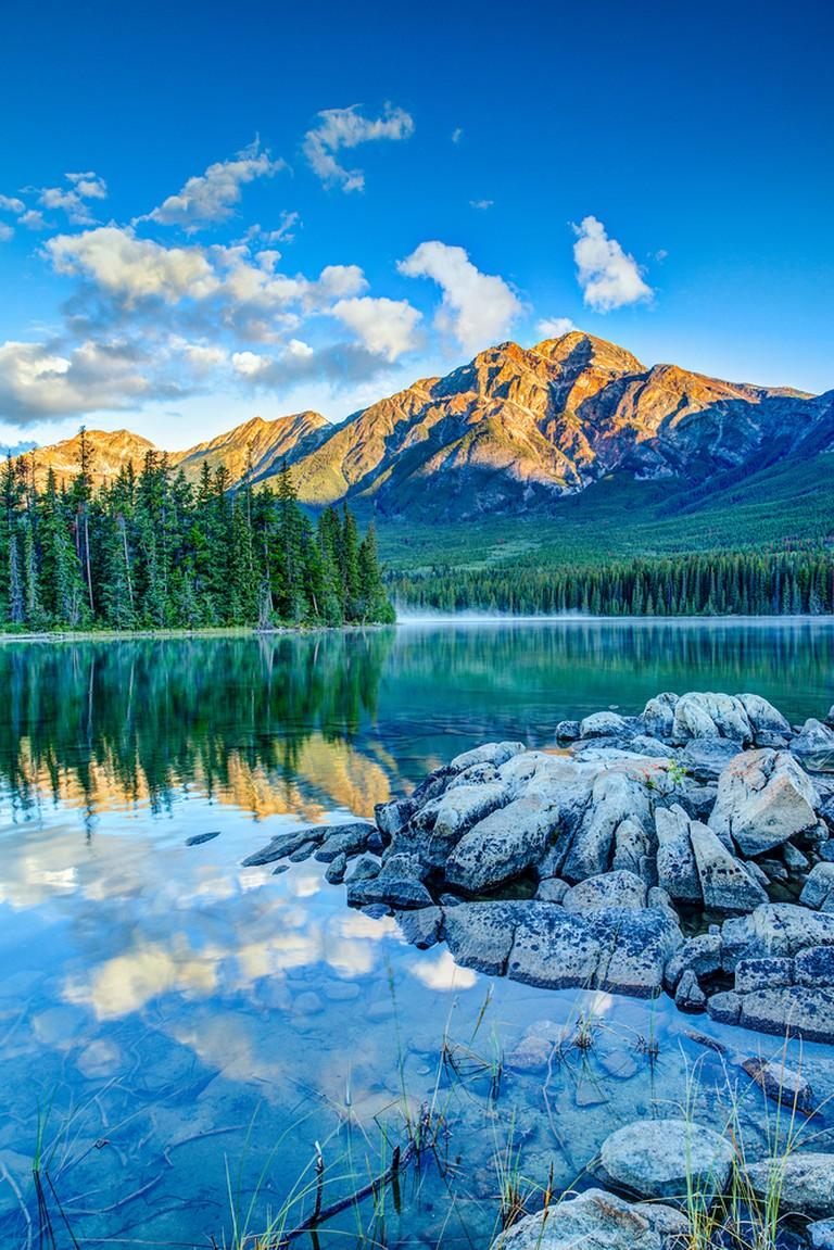 Pyramid Lake, Jasper National Park | ©Ronnie Chua / Shutterstock