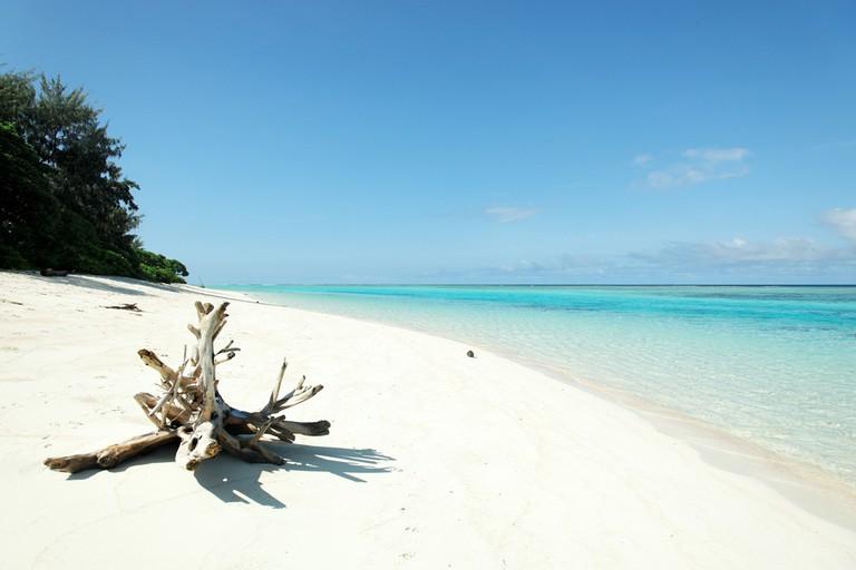 The beach at Panasia Island | © Guido Amrein Switzerland / Shutterstock