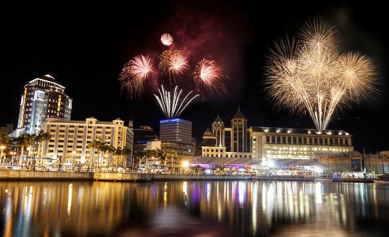 Fireworks at Port Louis, Mauritius | © Shutterstock