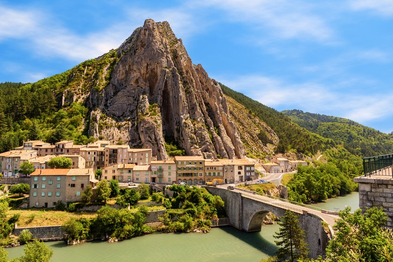 Sisteron in Provence