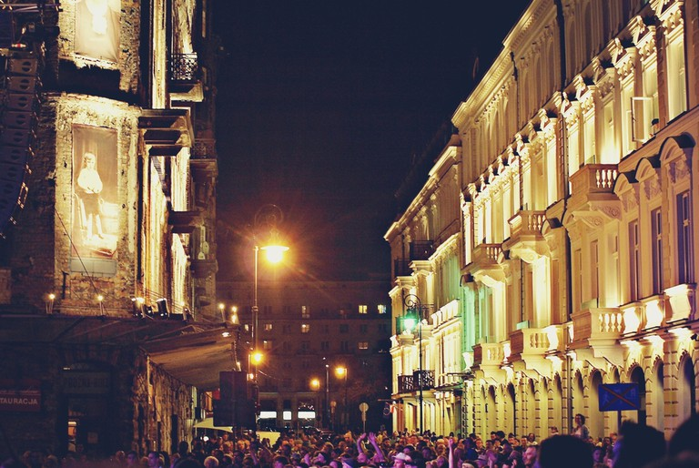 Prozna Street, Warsaw © Shutterstock