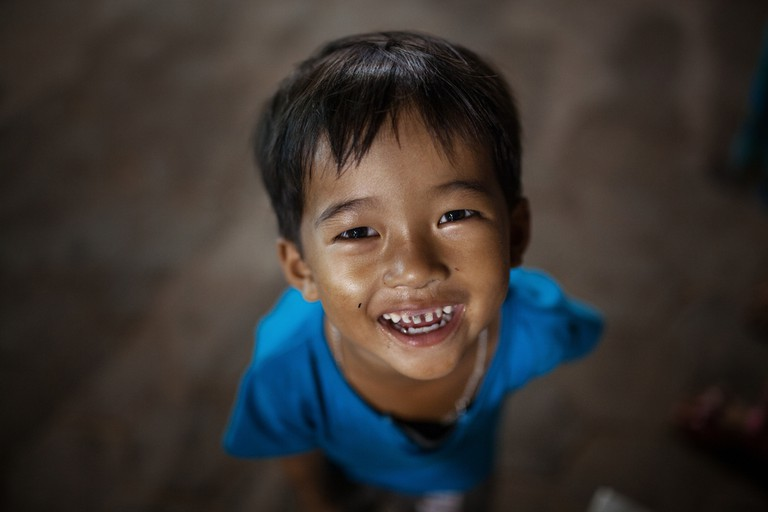 Smiles are plentiful in Cambodia | © Mycola Huba / Shutterstock