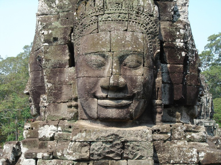 Bayon temple shows both Buddhist and Hindu iconography | © marktucan/ Shutterstock