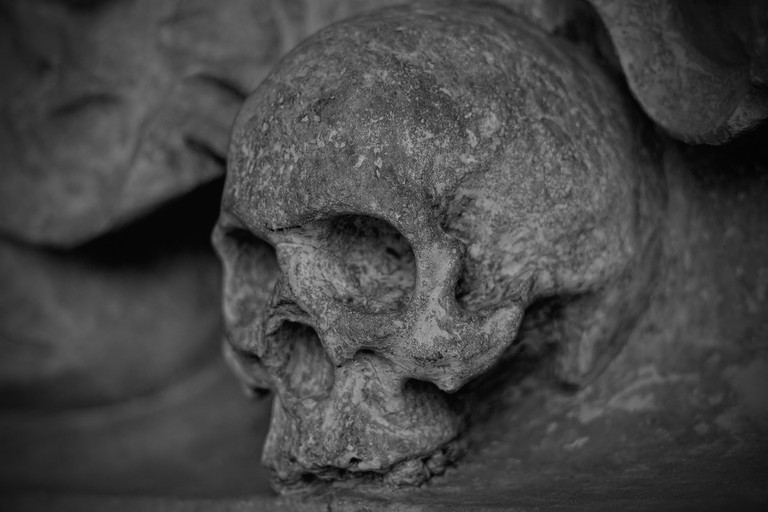 Skull | © PeterDargatz/pixabay