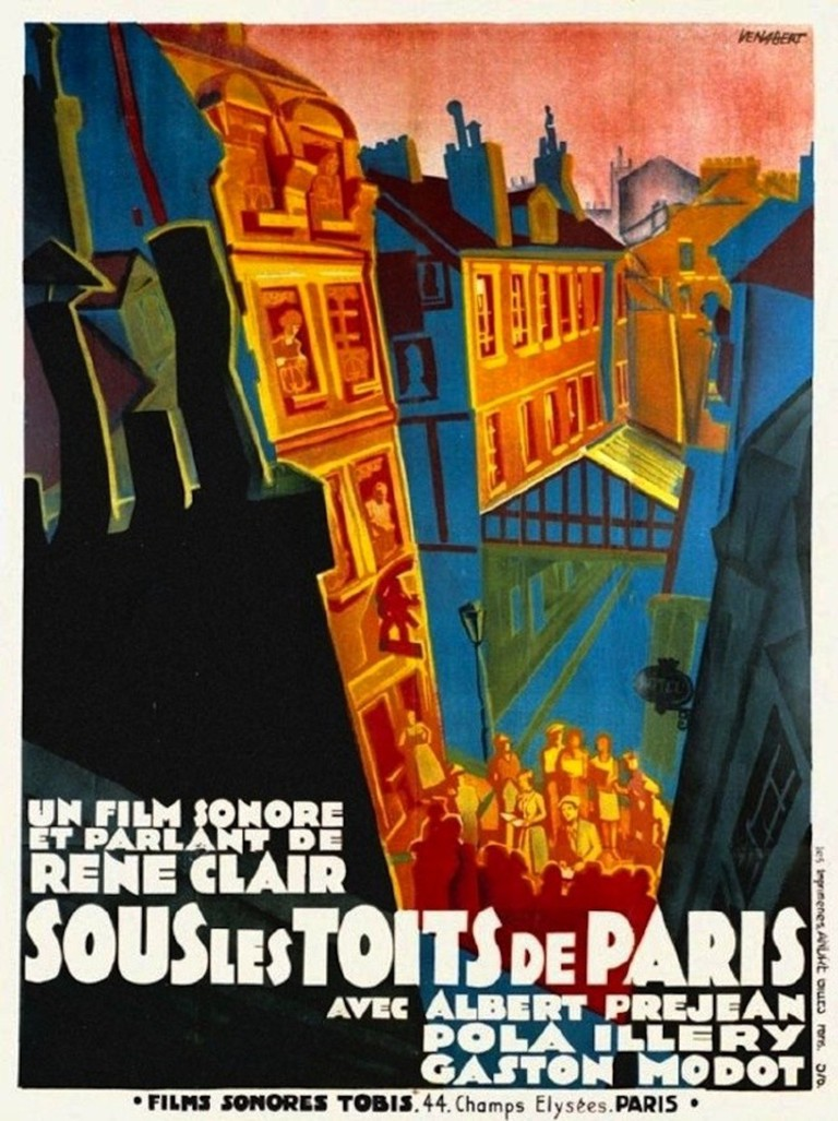 Sous les toits de Paris (1930) │ Courtesy of Films Sonores Tobis