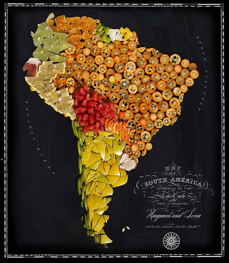 Tomatoes, limes, lemons and other fruits for South America | © Henry Hargreaves and Caitlin Levin