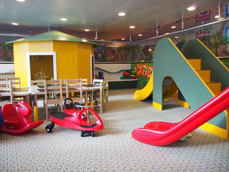 Awesome playroom in the Tallink | ©Elizabeth Georgian