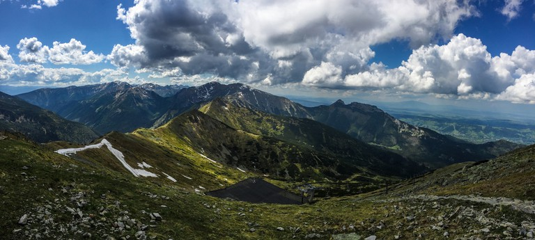 Tatra mountains panorama, Zakopane, Poland | © PIVISO/Flickr/Public Domain