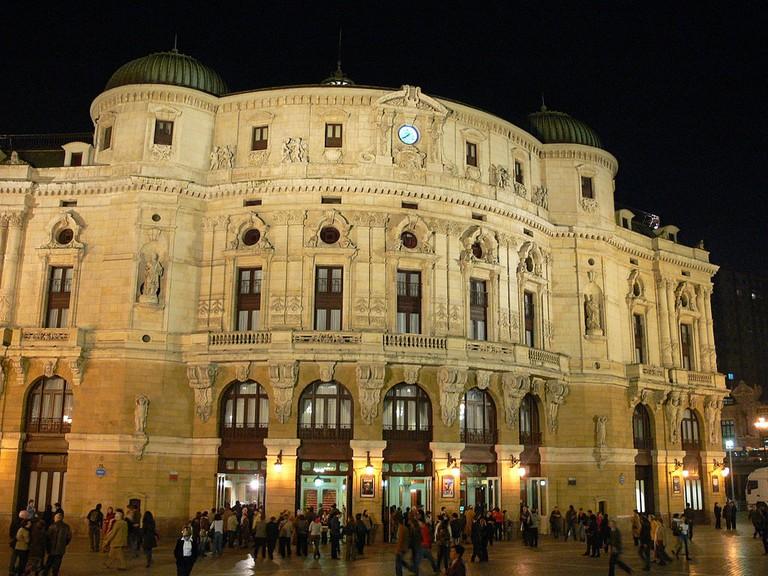 Teatro Arriaga Bilbao   ©Andreas Praefcke / Wikimedia Commons