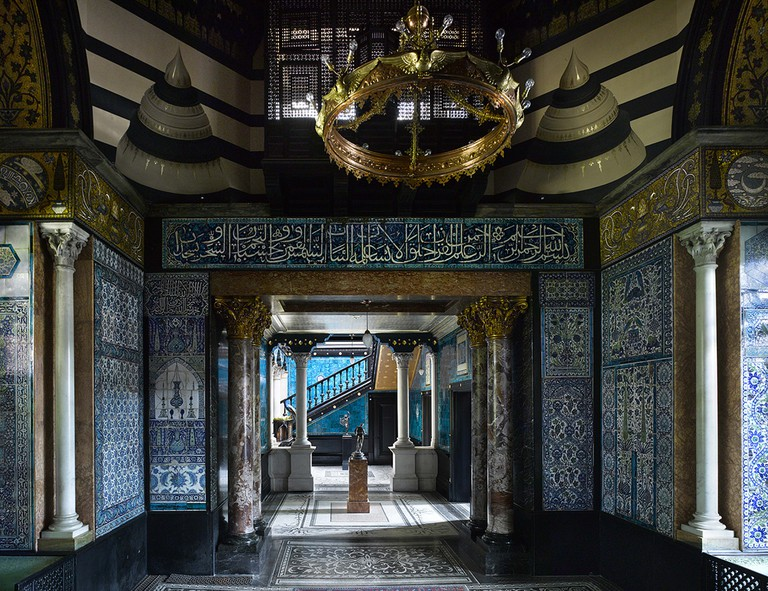 The Arab Hall   Photo courtesy of Leighton House Museum and Will Pryce