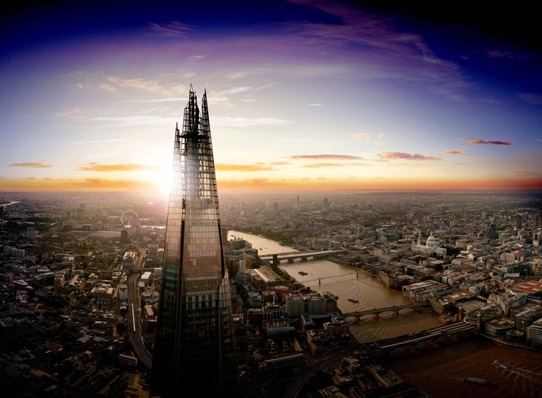 The sun rises over London | Courtesy of The View from The Shard