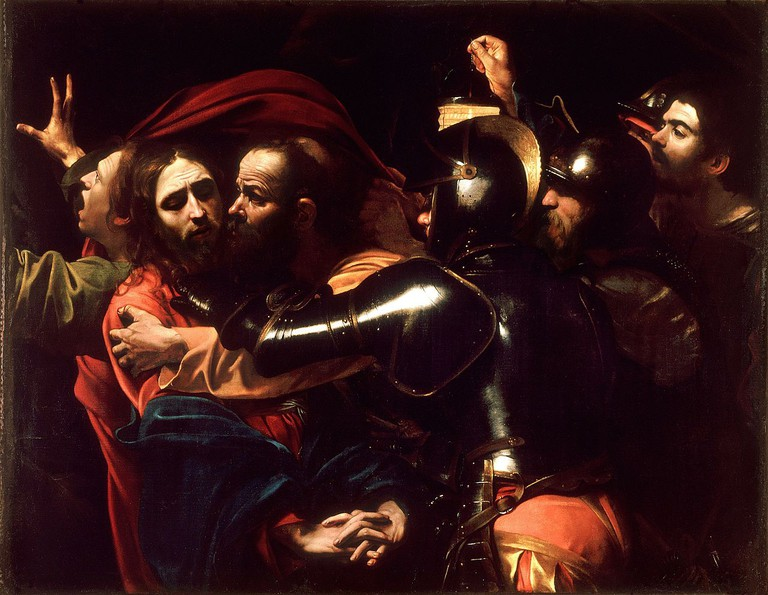 The Taking Of Christ By Caravaggio c.1602 | © WikiCommons