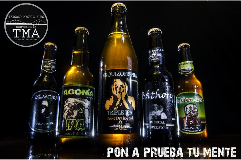 Courtesy of Texcoco Mystic Ales