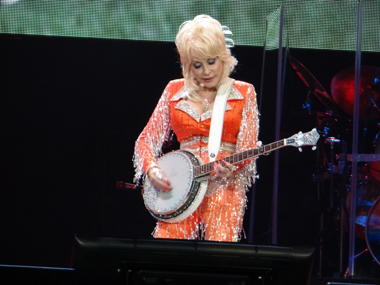 Country singer Dolly Parton   © Kristopher Harris / Flickr