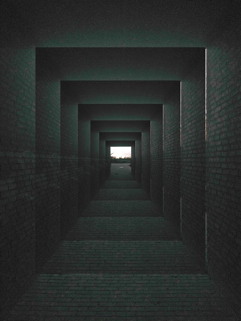 Tunnel ishøj   © Frej Rosentjerne