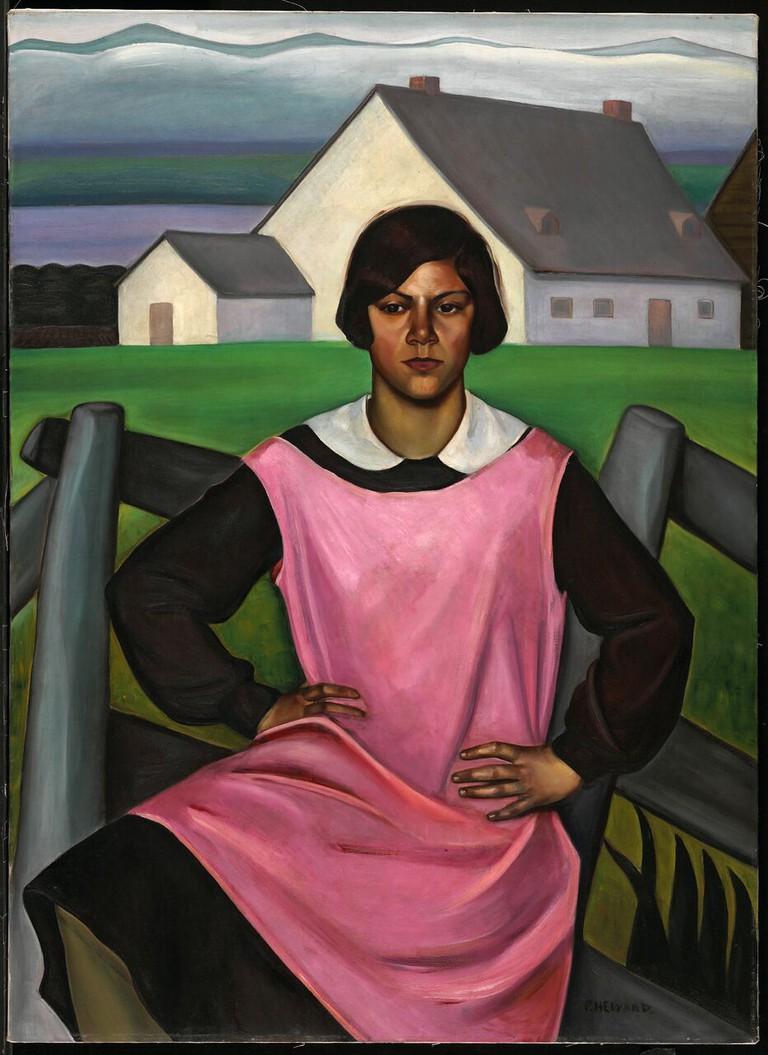 Prudence Heward, Rollande (1929)   Courtesy of the National Gallery of Canada, Ottawa