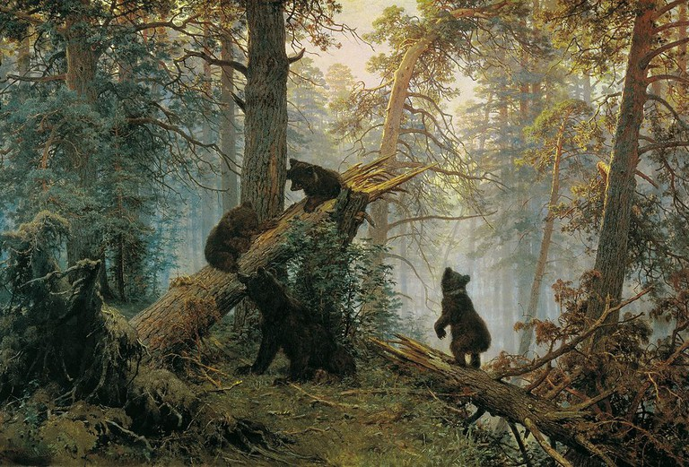 'Morning in a Pine Forest' (1886) | © Ivan Shishkin