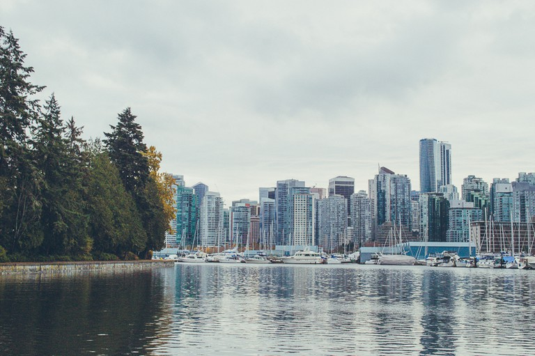 Coal Harbour View from Stanley Park's Seawall | © Hayley Simpson