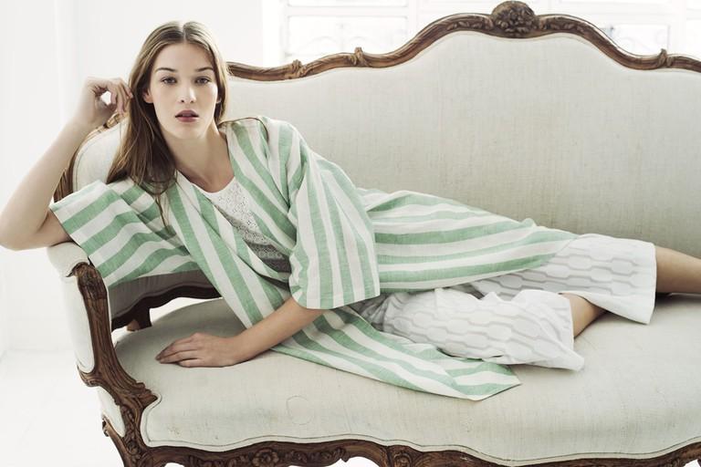 Verino used lightweight fabrics for SS17 | © Roberto Verino