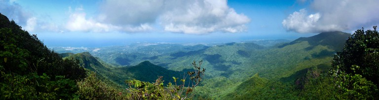 View from on high at El Yunque | © andrewm123 / Flickr