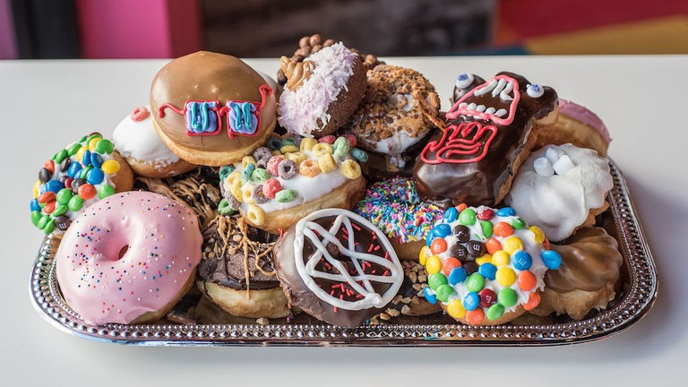 A selection of Voodoo's doughnuts|©Wonho Frank Lee, Courtesy of Universal CityWalk