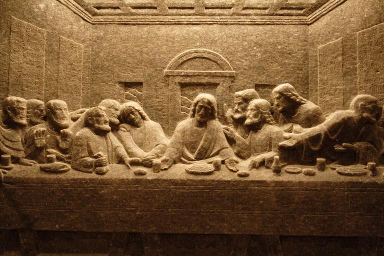 The Last Supper, carved in salt | © Alexander Baxevanis/Flickr