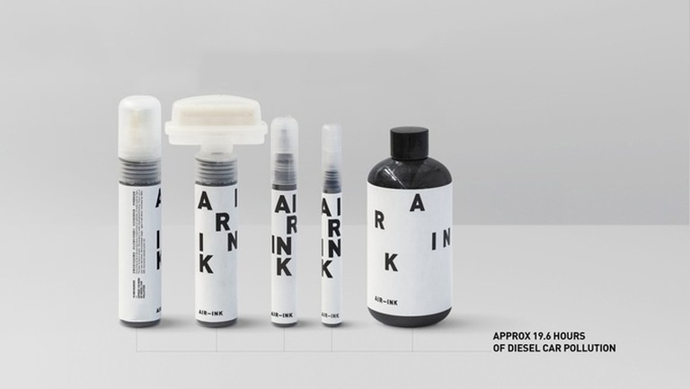 AIR-INK is available for the first time through this Kickstarter | Courtesy of Graviky Labs