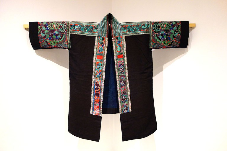 Woman's festive jacket, Miao people, Leishan county, Guizhou province|©Daderot/Wikimedia Commons