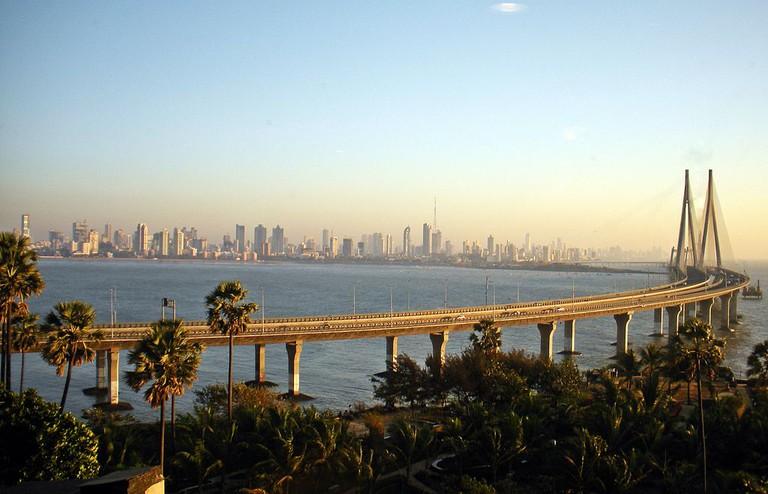 Worli Skyline and the Bandra-Worli Sea Link Woodysworldtv /WikiCommons