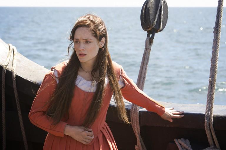 Sophie Rundle in 'Jamestown'