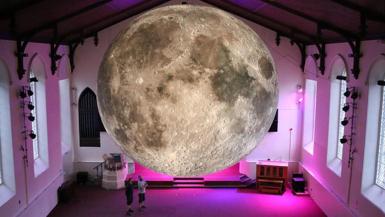 Museum of the Moon at Lakes Alive, UK | © Luke Jerram