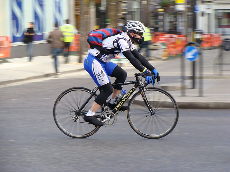 Cyclist | © ProfDEH/WikiCommons