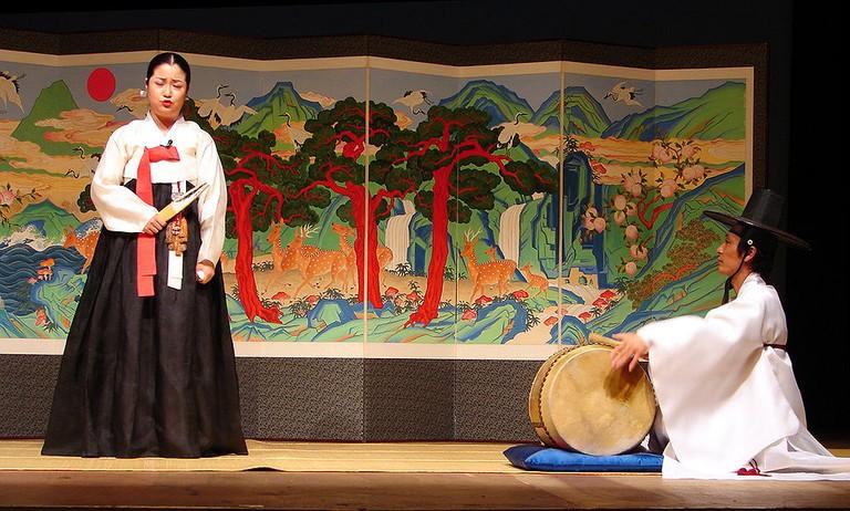 Pansori Performance| © Wikimedia