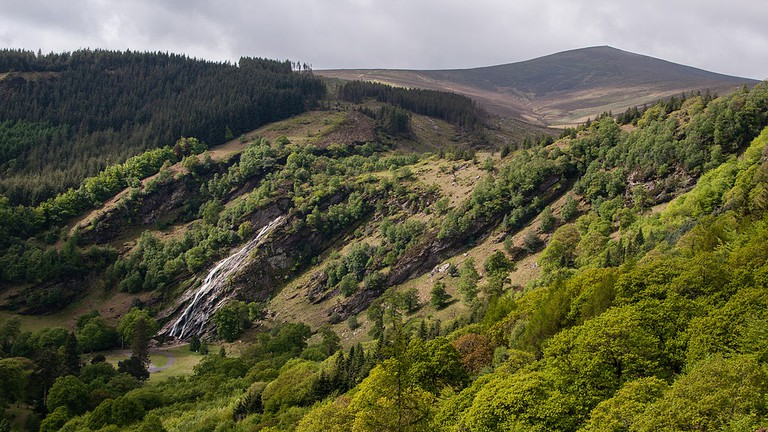 View of Powerscourt Deerpark and Waterfall at Ride Rock, Crone Woods | © Joe King/WikiCommons