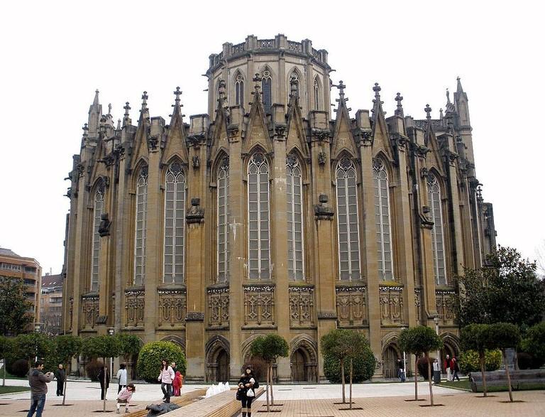 Vitoria Gasteiz Cathedral | ©Zarateman / Wikimedia Commons