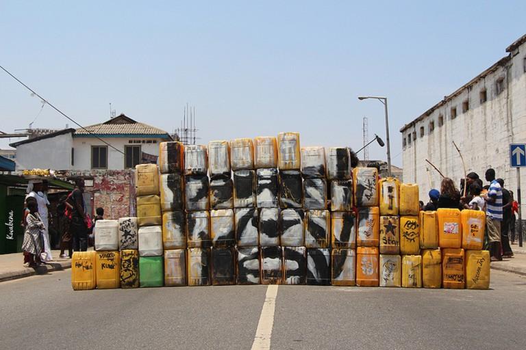 Street Art by Serge Attukwei, (c) Kwabena Akuamoah-Boateng / Flickr