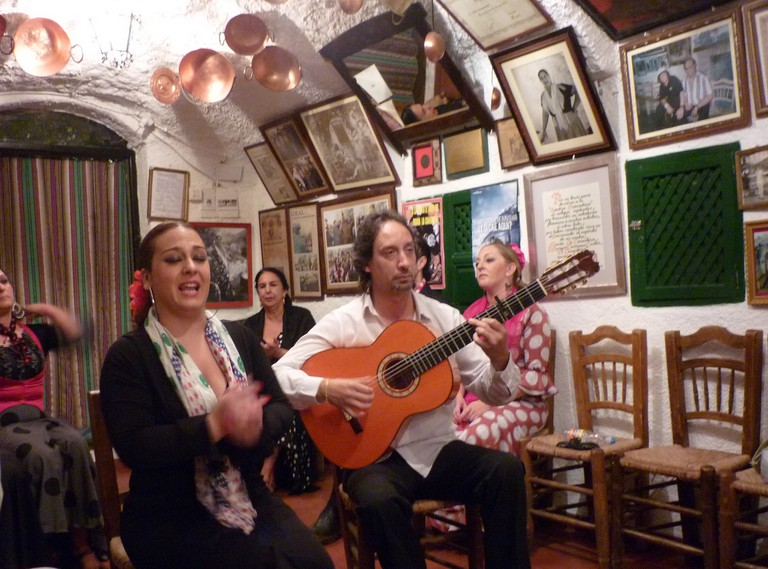 "<a href=""https://www.flickr.com/photos/jmenj/"" target=""_blank"" rel=""noopener noreferrer"">Flamenco in the caves of Sacromonte is raw and passionate 