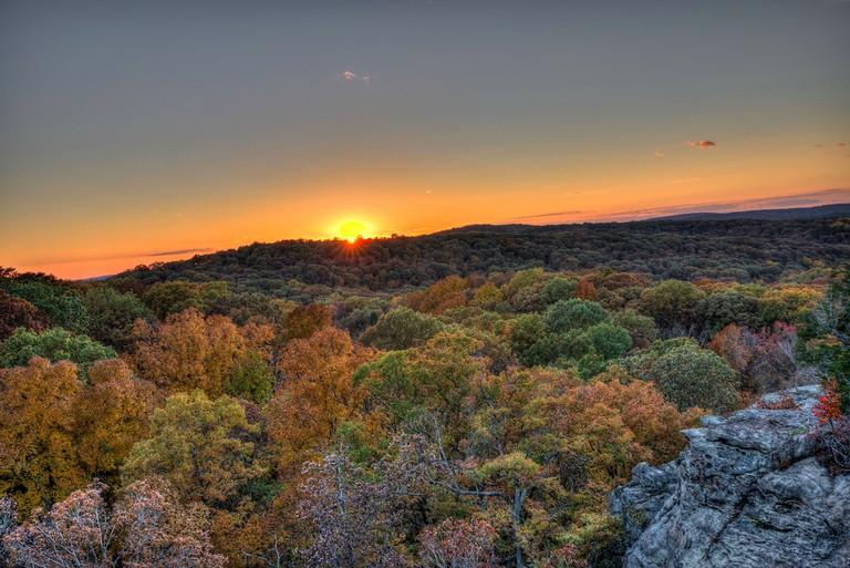 Garden of the Gods, Shawnee National Forest | © Michael/Flickr