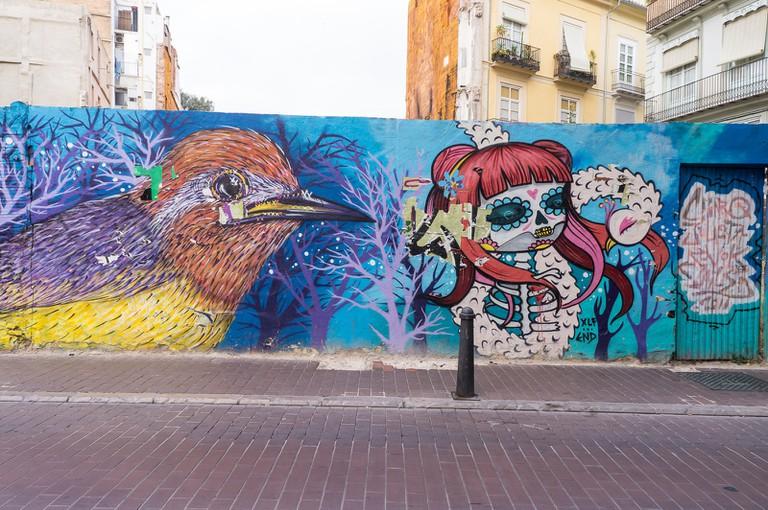 Street art in El Carmen, Valencia | Alison Allum