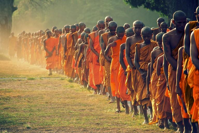 The Orange Line Angkor Wat, Cambodia