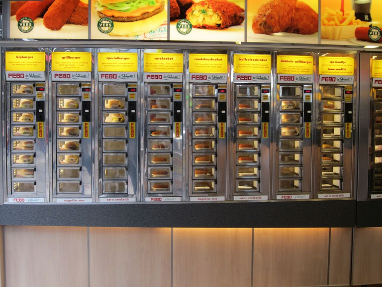 FEBO have really cornered the market when it comes to vending machine ready fried food