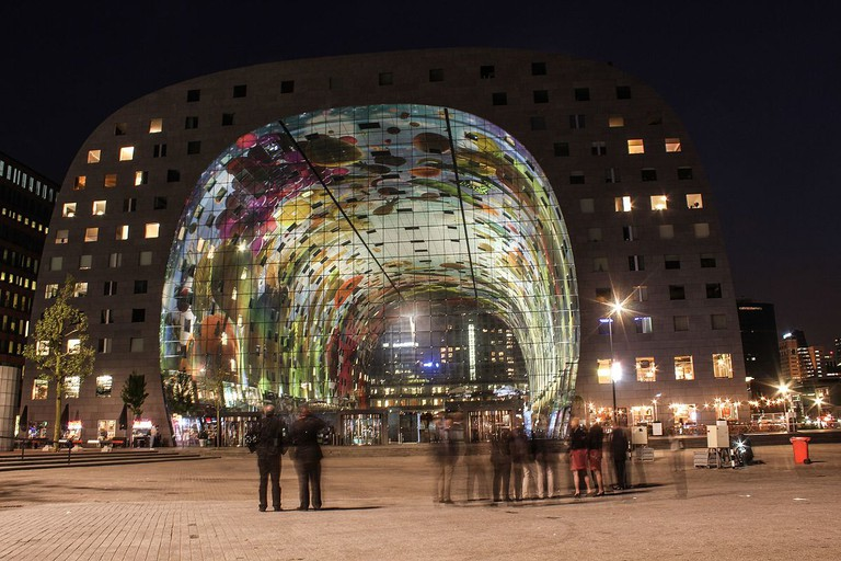 Markthal at night