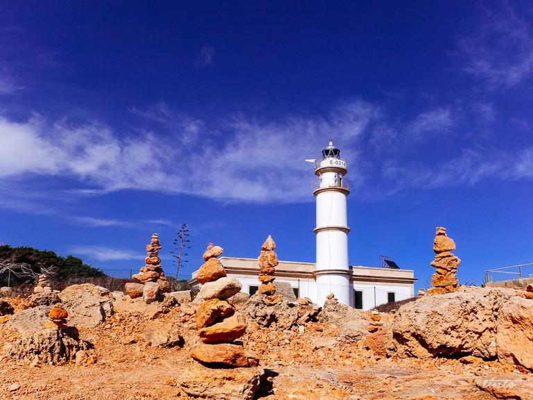 Lighthouse at Ses Salines © Jörg Schubert