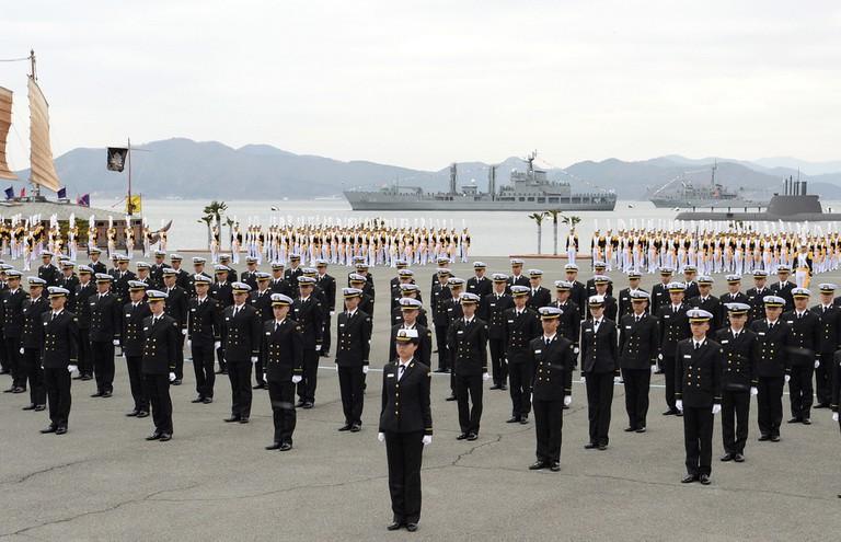 2014. 2. 해군사관학교 제72기 사관생도 입교식 Republic of Korea Navy | © PRO대한민국 국군 Republic of Korea/Flickr