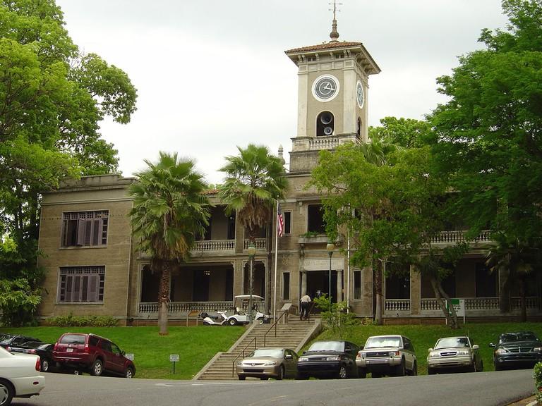 Edificio José de Diego, University of Puerto Rico at Mayagüez, Mayagüez, Puerto Rico.
