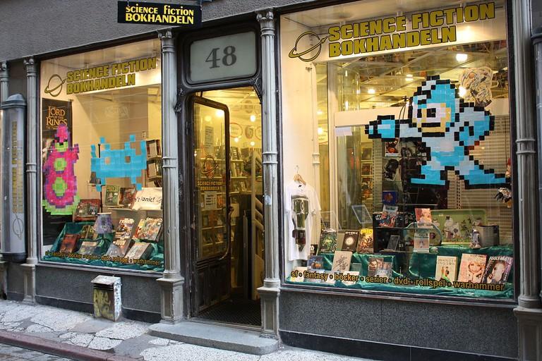 Stockholm bookshops