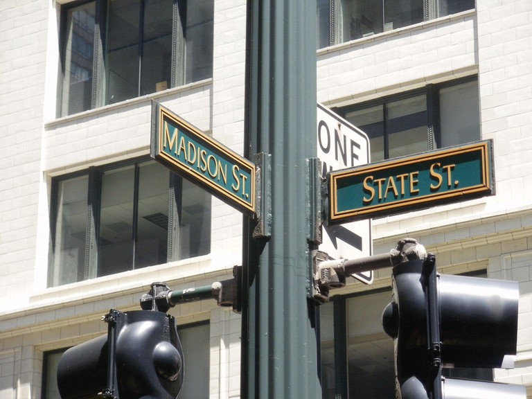 The Madison and State intersection | © Jdunn1189/WikiCommons