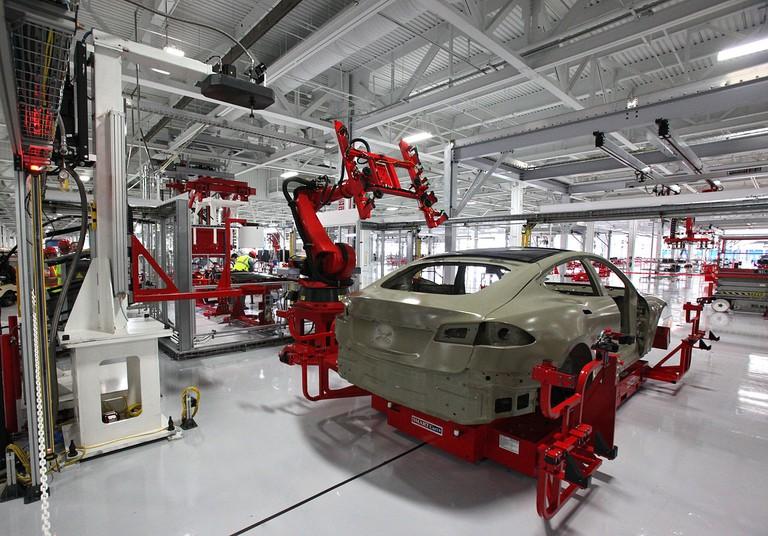 Vehicle assembly factory | © Steve Jurvetson