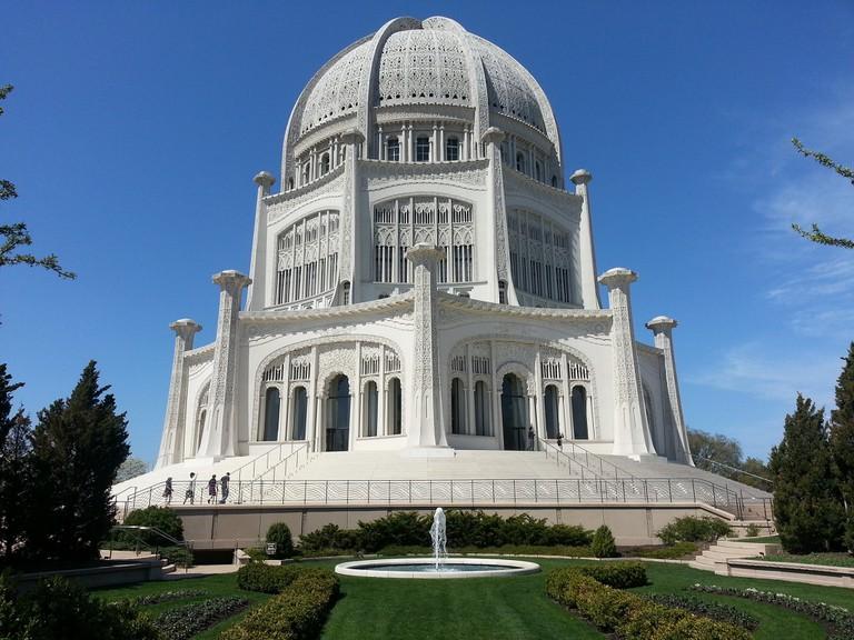 Bahá'í House of Worship, Wilmette | © CandaceMooreHill/Flickr